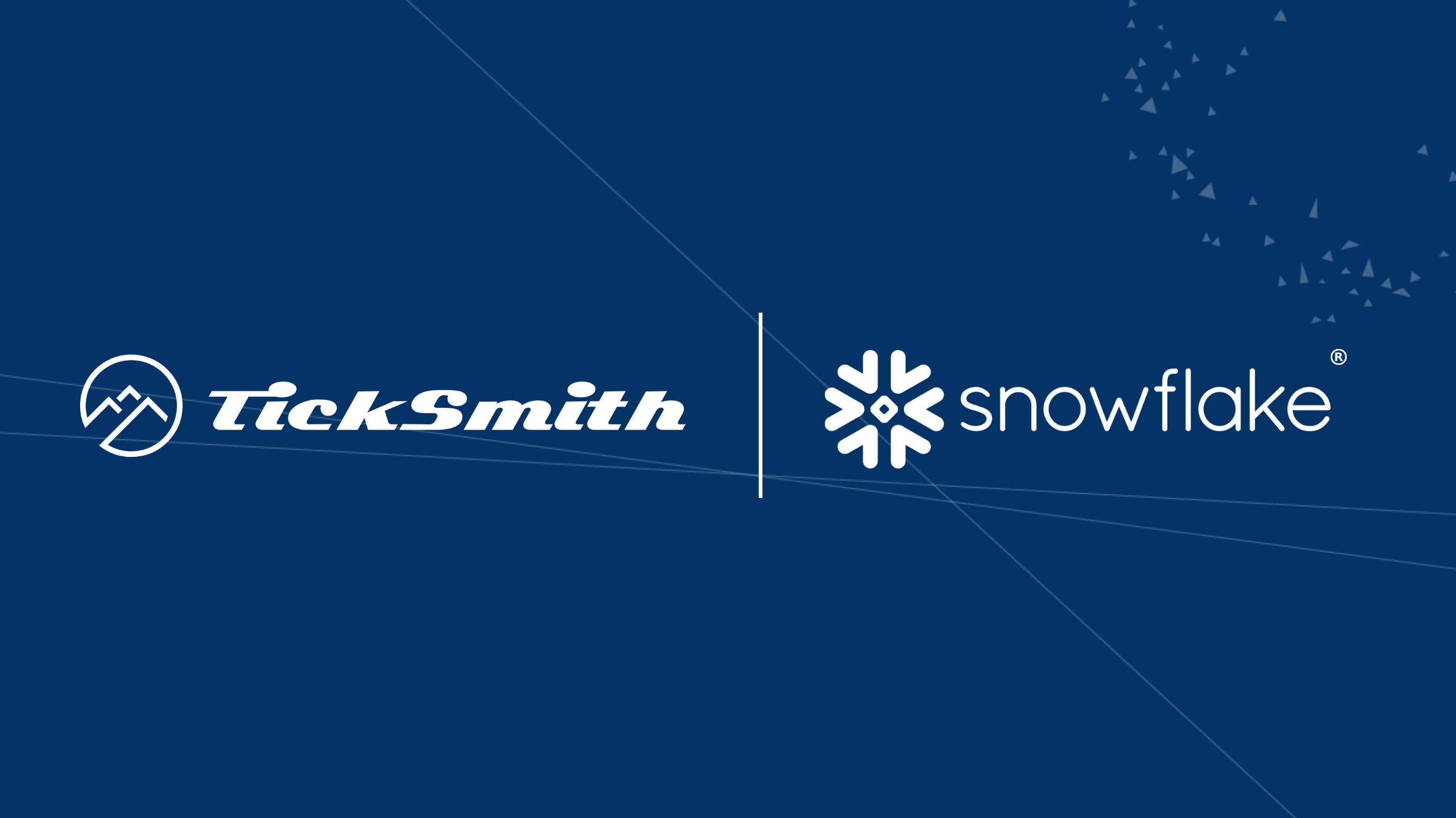 TickSmith_Snowflake-Integration