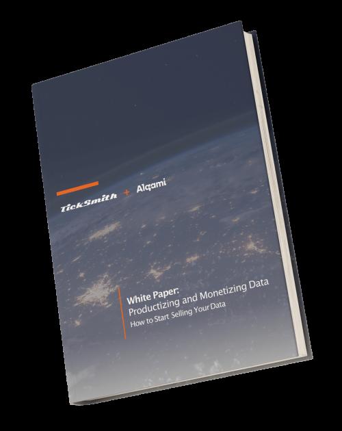 Productizing and Monetizing Data White Paper